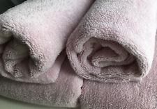 Debenhams 4 Pieces Towel Bale Pink Pure Cotton 2 Hand 2 Bath Towels/ Used