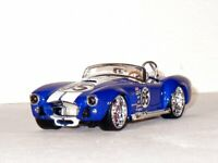SHELBY Cobra 427 - 1965 - blue - Maisto 1:24