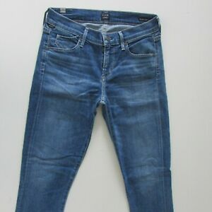 Citizens of Humanity Avedon Jeans Size W26 L27 Blue Womens Ankle Ultra Skinny