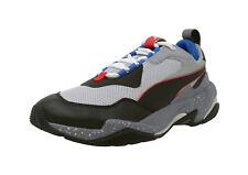 PUMA Thunder Electric Gray Black Royal White Lace Up Sneakers Fashion Men Shoes