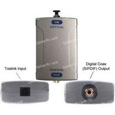 Toslink Optical Audio To S/PDIF Digital Audio Converter