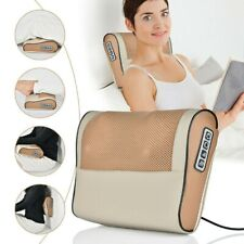 12V Infrared Heating Electric Neck Massager Shoulder Body Kneading Pillow Heat