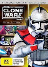 Star Wars - The Clone Wars - Animated Series : Season 3 : Vol 1 DVD, R4, WOW!!!