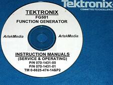 Tek Fg501 Function Gen Instruction Opsserv Manual