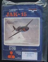 VACUFORM - Jakowlew JAK 15  - 1:72 - Flugzeug Modellbausatz - Model KIT