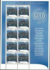 Australia 2004 - Sports Gold Medalists Athens Olympics Hockey - Sc 2279 MNH