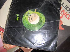 "7"" PAUL & LINDA McCARTNEY  TOO MANY PEOPLE UNCLE ALBERT ADMIRAL H. WRONG LABEL"