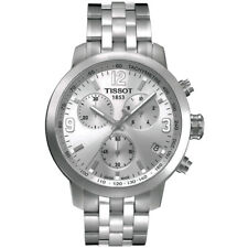 NEW TISSOT MENS SWISS PRC 200 CHRONOGRAPH WATCH - T0554171103700 - RRP £415