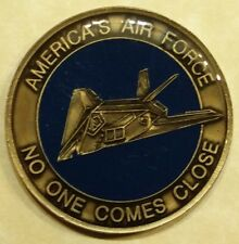 F-117 Stealth Fighter America's Air Force Challenge Coin
