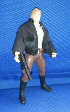 Star Wars Han Solo with cloth jacket POTF figure loose with weapon