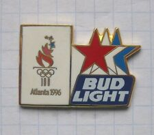 BUDWEISER / OLYMPISCHE SPIELE ATLANTA 1996 / BUD LIGHT ........ Bier Pin (103k)