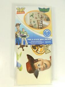 RoomMates Toy Story 34 Glow in the Dark Peel and Stick Wall Decals - RMK1428SCS
