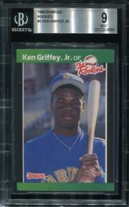1989 Donruss Baseball #3  KEN GRIFFEY JR RC  BGS 9 MINT   J2M564