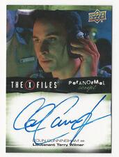 Colin Cunningham The X Files Ufos & Aliens Paranormal Script Autograph Card Auto
