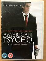 American Psycho DVD 2000 Bret Eaton Ellis Serial Killer Film Movie Classic