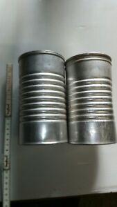 Boites de lait Guigoz aluminium 2 differentes