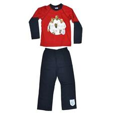 RED ENGLAND PYJAMAS FOUR PLAYERS  ST GEORGE'S  FLAG FOOTBALL WORLD CUP SPORT 5 6