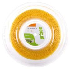 PRINCE Synthetic Gut 16 Duraflex 660ft/200m tennis racquet string reel - Gold