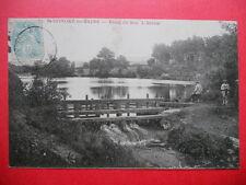 ST-HONORÉ-LES-BAINS  :  Etang du Seu - L- Ecluse.....VO.1906.