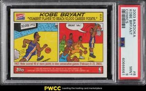 2003 Bazooka Comics Kobe Bryant #8 PSA 9 MINT