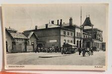 29604 AK Bahnhof Diedenhofen Feldpost 1941 CPA Thionville Gare PC railway statio
