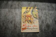 (c28) rizla revue der kampioenen cyclisme chromos complet 1955