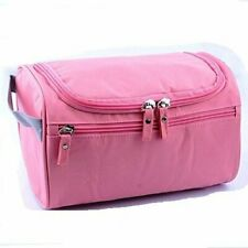 Hanging Fabric Travel Toiletry Bag (Pink) free shipping US