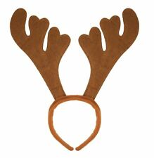 Christmas Rudolph Reindeer Antlers Headbands Hat Fancy Dress Xmas Party Novelty