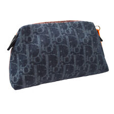 Christian Dior 飞行狐步化妆品包保护袋海军灰色厘米 1006 ak31349h