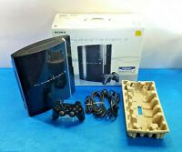CONSOLA SONY PLAYSTATION 3 PS3 FAT 80GB PAL CAJA CECHK04 MANDO CABLES COMPLETA