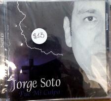 Fue Mi Culpa -Jorge Soto - CD de musica cristiana
