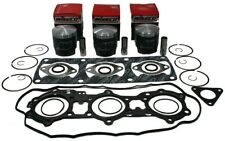 Polaris Indy XCR 600, 1995 1996 1997, Wiseco Std Pistons and Top End Gasket Set