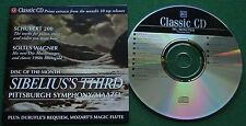 Classic CD Extracts Schubert 200 Solti's Wagner Sibelius's Third + CD