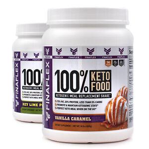 Finaflex 100% Keto Food (14srv) Ketogenic meal replacement diet shake powder
