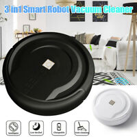 3 in1 Smart Robot Self Navigated Vacuum Cleaner Sweeper Sensor Edge Automatic