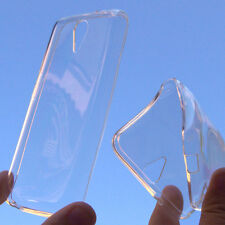 custodia silicone invisibile cover per Htc Desire 620 620G antishock trasparente