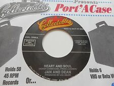 """JAN AND DEAN """"HEART AND SOUL"""" / """"THE KNICKERBOCKERS """"LIES"""" 7"""" 45 COLLECTABLE"""