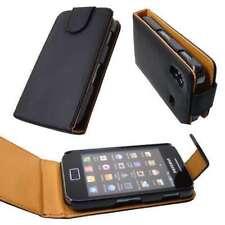 caseroxx Flip Cover für Samsung S5830 Galaxy Ace in schwarz aus Kunstleder