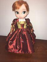 "Fits Disney Animators 16"" Doll Clothes Renaissance Dress Halloween Costume"