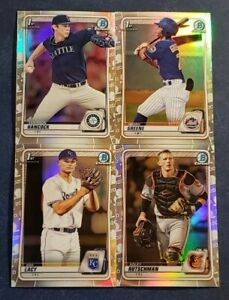 2020 Bowman Draft Chrome Refractors 1st Prospects Top Prospects You Pick