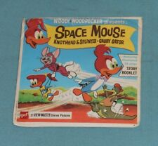 vintage WOODY WOODPECKER SPACE MOUSE VIEW-MASTER REELS packet with booklet