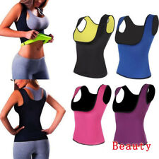 Thermo Sweat Body Shaper Corset Slimming Waist Trainer Cincher Clincher Vest HOT
