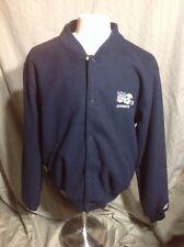Vintage NFL Dallas Cowboys Rare STARTER blue Fleece Style Jacket Size XL