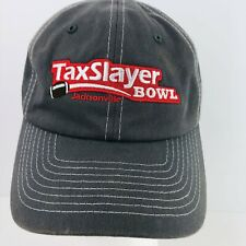 TaxSlayer Bowl Football Jacksonville Florida Gray Baseball Cap Hat