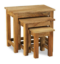 LIGHT DAKOTA MANGO SMALL NEST OF 3  TABLES (09L)