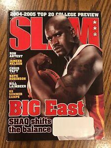SLAM Basketball Magazine November 2004 - Shaquille Cover + Posters!