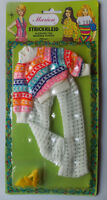 """Vintage - Marion Knit Dress - Doll Barbie Clone Outfit - For 11,5 """" Fashion Doll"""