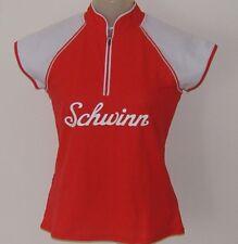 c2b61c244 MEDIUM Women s Schwinn Classic Red   White Cycling Jersey 6