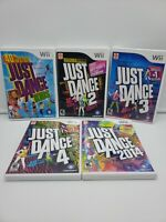 Just Dance LOT 2014, Kids, 2, 3, 4  (Nintendo Wii) clean,  tested,  adult owned