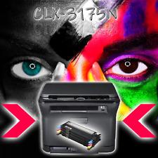 SAMSUNG Multifunktions-Farblaserdrucker CLX-3175N Scannen Drucken